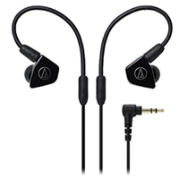 New Audio Technica ATH-LS50 In-ear Headphones Black