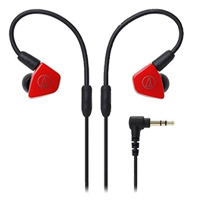 New Audio Technica ATH-LS50 In-ear Headphones Red