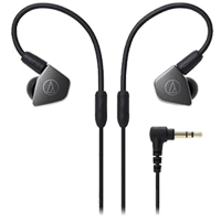 New Audio Technica ATH-LS70 In-ear Headphones Black