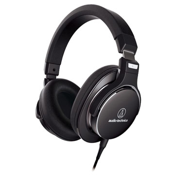 New Audio Technica ATH-MSR7NC Over ear Headphones Black