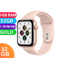 New Apple Watch SE 44mm Gold