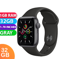 New Apple Watch SE 44mm Space Gray