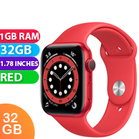 New Apple Watch Series 6 44mm Aluminium PRODUCT Red