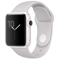 New Apple Watch Cloud Sport Band 38 mm White Ceramic (PF2)