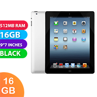 Used as demo Apple iPad 2 16GB Wifi + Cellular Black (6 month warranty + 100% Genuine)