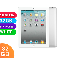 Used as Demo Apple iPad 2 32GB Wifi White (6 month warranty + 100% Genuine)