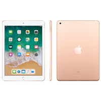 New Apple Ipad (9.7) 128GB WiFi (2018) Tablet Gold
