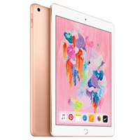 New Apple Ipad (9.7) 32GB WiFi (2018) Tablet Gold