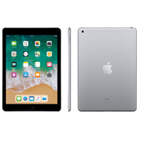 New Apple Ipad (9.7) 128GB WiFi (2018) Tablet Space Grey