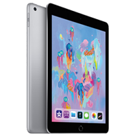 New Apple Ipad (9.7) 32GB WiFi (2018) Tablet Space Grey