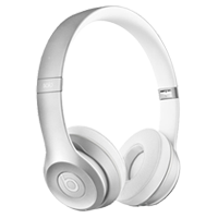 Beats SOLO 2 Wireless Headphones Silver
