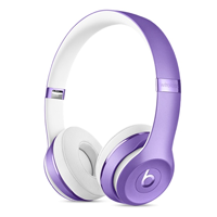 Beats SOLO 3 Wireless Headphones Violet