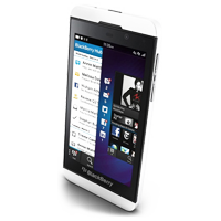BlackBerry Z10 4G LTE White Refurbished (1 YEAR NEW ZEALAND WARRANTY)