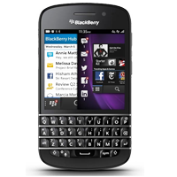 BlackBerry Q10 4G LTE Black Refurbished (1 YEAR NEW ZEALAND WARRANTY)