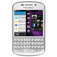 BlackBerry Q10 4G LTE White Refurbished (1 YEAR NEW ZEALAND WARRANTY)