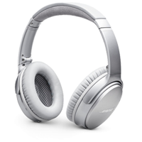 New Bose QC35 II Wireless Headphones Silver