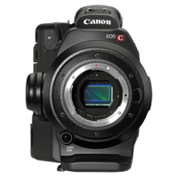 New Canon EOS C300 EF Mount 8MP Body Professional Camcorder