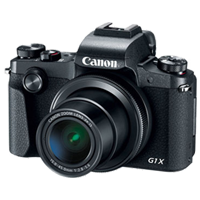 New Canon PowerShot G1 X Mark III 24MP Full HD Camera Black