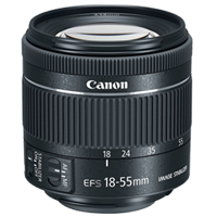 New Canon EF-S 18-55mm f/4-5.6 IS STM (kit lens)