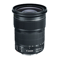 New Canon EF 24-105mm f/3.5-5.6 IS STM Lens
