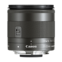 New Canon EF-M 11-22mm F4-5.6 IS STM Lens