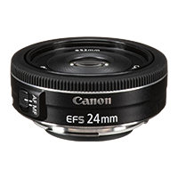 New Canon EF-S 24mm f/2.8 STM Lens