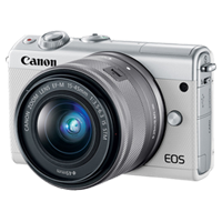 New Canon EOS M100 kit (15-45mm) Digital Cameras White