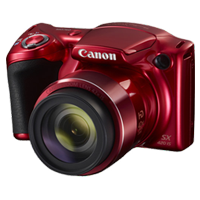 Canon PowerShot SX420 IS 20MP Full HD Digital Camera Red