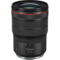 New Canon RF 15-35mm f/2.8L IS USM Lens
