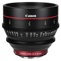 New Canon CN-E 24mm T1.5 L F Lens