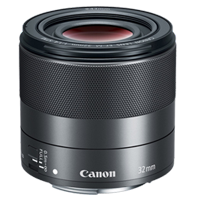 New Canon EF-M 32mm f/1.4 STM Lens