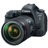 New Canon EOS 6D Mark II with 24-105mm f/4L IS II USM Digital Cameras
