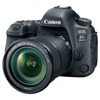 New Canon EOS 6D Mark II with 24-105mm IS STM Digital Cameras