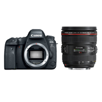 New Canon EOS 6D Mark II with 24-70mm f/4L IS USM Digital Cameras