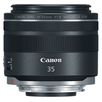 New Canon RF 35mm f/1.8 Macro IS STM Lens