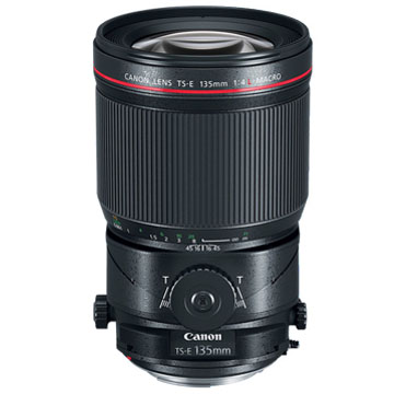New Canon TS-E 135mm f/4L Macro Tilt-Shift Lens