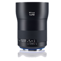 New Carl Zeiss Milvus ZE 1.4/50mm Lens For Canon