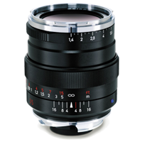 New Carl Zeiss Distagon T* 35mm f/1.4 ZM Lens Black