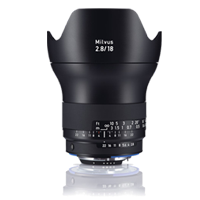New Carl Zeiss Milvus ZF.2 2.8/18mm Lens for Nikon