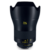 New Carl Zeiss Otus ZE 1.4/28mm Lens for Canon