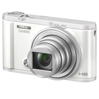 New Casio Exilim EX-ZR5100 12.1MP Digital Camera White