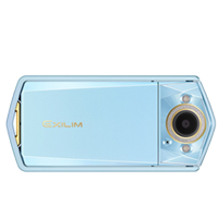 New Casio Exilim EX-TR80 12MP Digital Camera Light Blue
