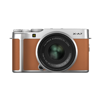 New Fujifilm X-A7 Kit (15-45mm) Digital Camera Camel