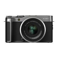 New Fujifilm X-A7 Kit (15-45mm) Digital Camera Dark Silver