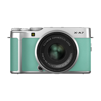 New Fujifilm X-A7 Kit (15-45mm) Digital Camera Mint Green