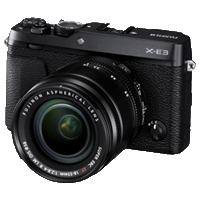 New Fujifilm X-E3 24MP (18-55) Kit Black