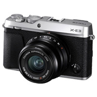 New Fujifilm X-E3 24MP (XF 23mm) Kit Silver