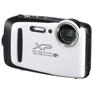New Fujifilm FinePix XP130 16MP Full HD Digital Camera White