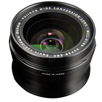 New Fujifilm WCL-X100 WideAngle Conversion Lens Black