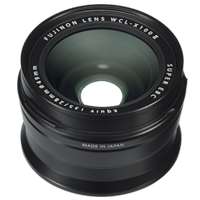 New Fujifilm WCL-X100 II WideAngle Conversion Lens Black